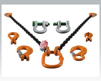 Imbracature di sollevamento / Sistemi di ancoraggio a catena